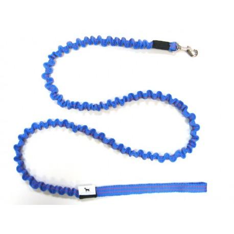 Smycz rozciągliwa 1,5 cm 0,9-1,5m niebieska