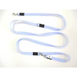 Smycz regulowana 1,5cm 2,0m Błękit