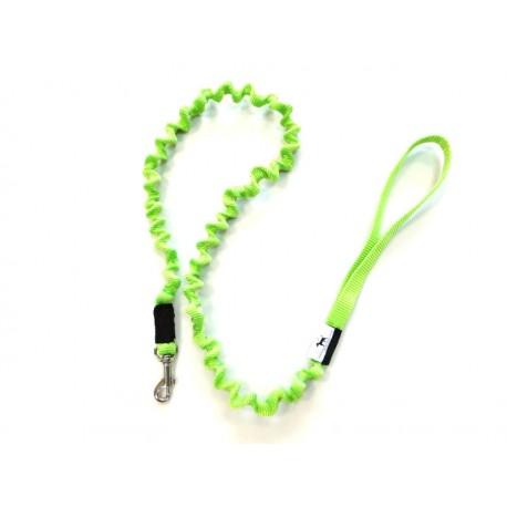 Smycz rozciągliwa 1,5 cm 0,9-1,5m zielona